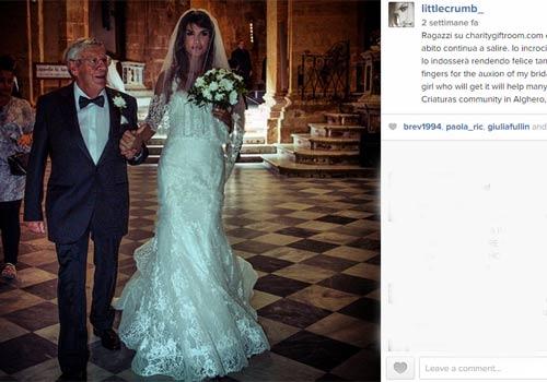 Il matrimonio di Elisabetta Canalis e Brian Perri: le foto  DiLei