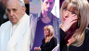 La mamma di Corona disperata per Fabrizio, chiede aiuto a Papa Francesco