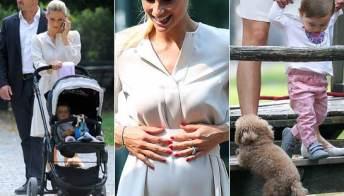 """Michelle incinta tornerà presto al lavoro e annuncia: """"Mi sposerò in diretta"""""""