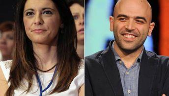 Il gossip sulla coppia Saviano-Picierno scatena la reazione del Pd