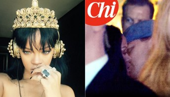 Rihanna: esce il nuovo album Anti (e bacia Leo)