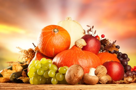 L'autunno: tutta la frutta e la verdura di stagione in ottobre