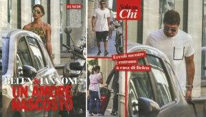 Belen Rodriguez e Andrea Iannone Fonte: Chi Magazine