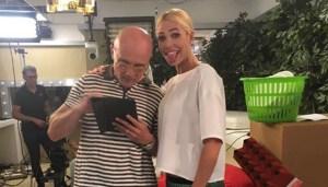Alfonso Signorini e Ilary Blasi Fonte: Instagram