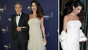 George Clooney e Amal: red carpet con il pancione