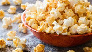 Popcorn dolci fatti in casa
