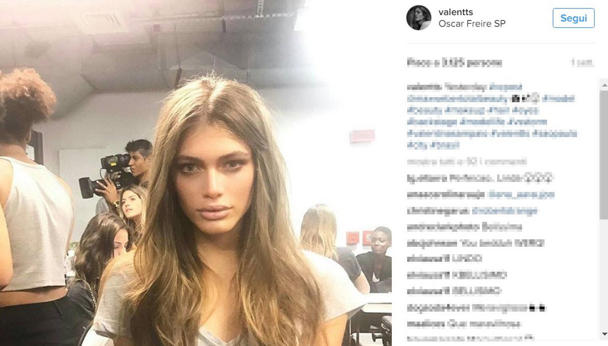 Valentina Sampaio: la prima modella transgender sulla