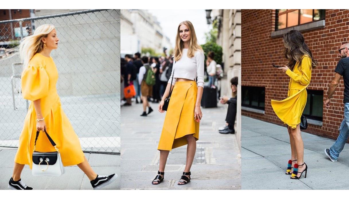 Che Colore Abbinare Al Giallo come abbinare il giallo: ecco i consigli per un look