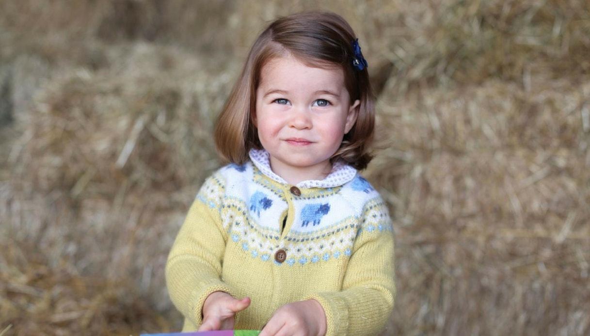 Charlotte compie 2 anni, Will-Kate, 'ecco foto principessa'