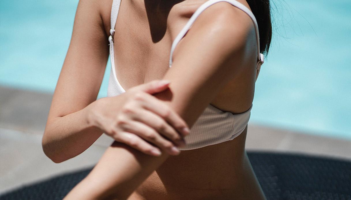 crema solare come sceglierla per viso o corpo
