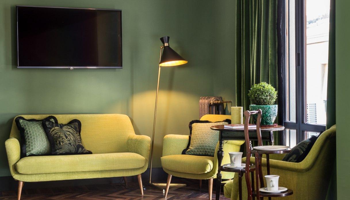 Come Dipingere Un Soggiorno 5 modi per usare il verde come colore d'arredo   dilei