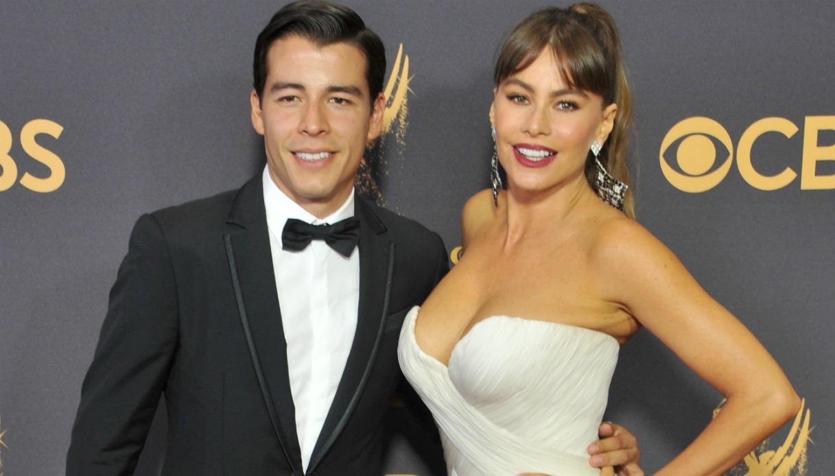 Sofia Vergara e il figlio Manolo Gonzalez