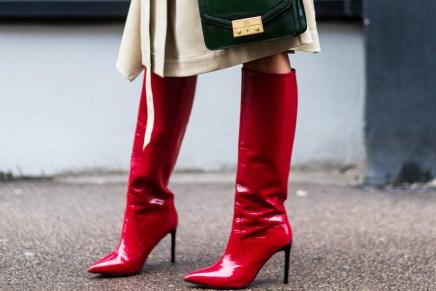L'oggetto del desiderio dell'autunno: gli stivali rossi