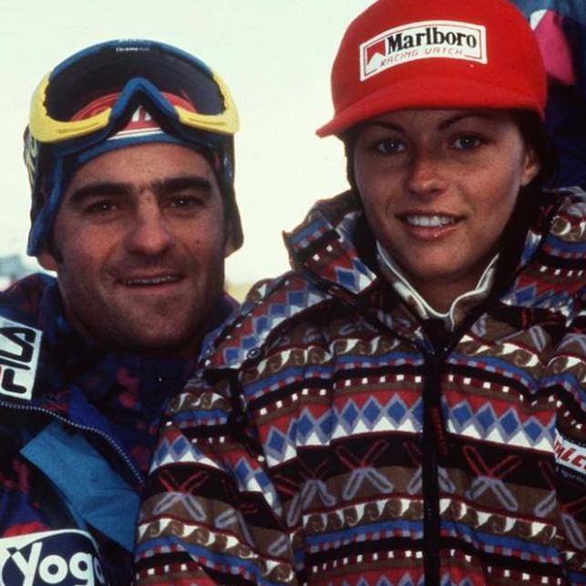 Alberto Tomba e Martina Colombari fidanzati