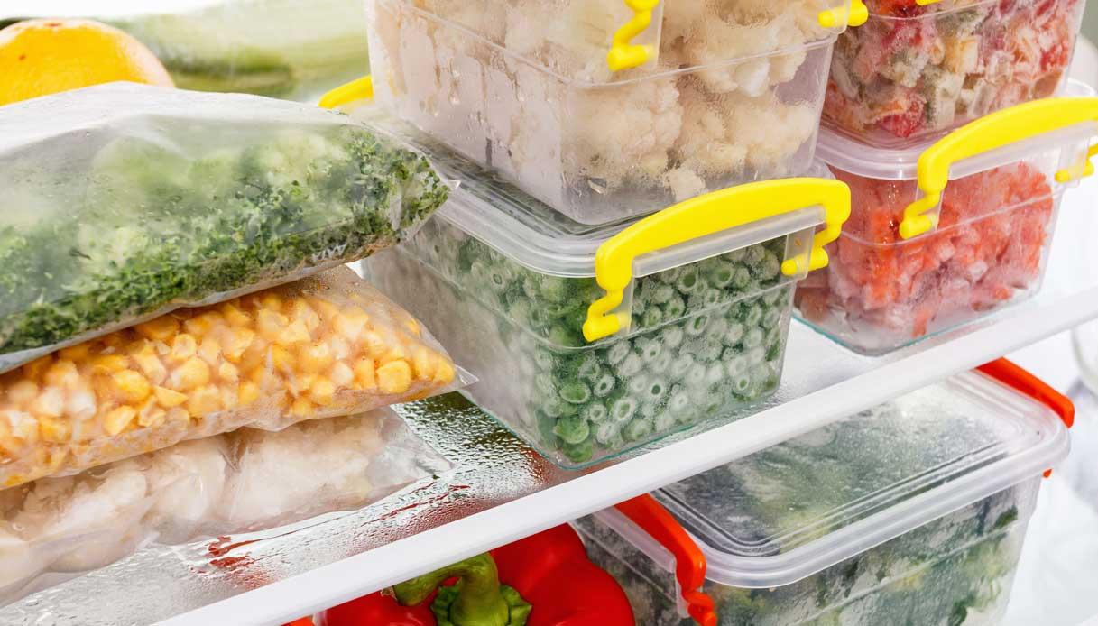 Contenitori Per Organizzare Frigo il congelatore? organizzato ed a prova di sprechi   dilei