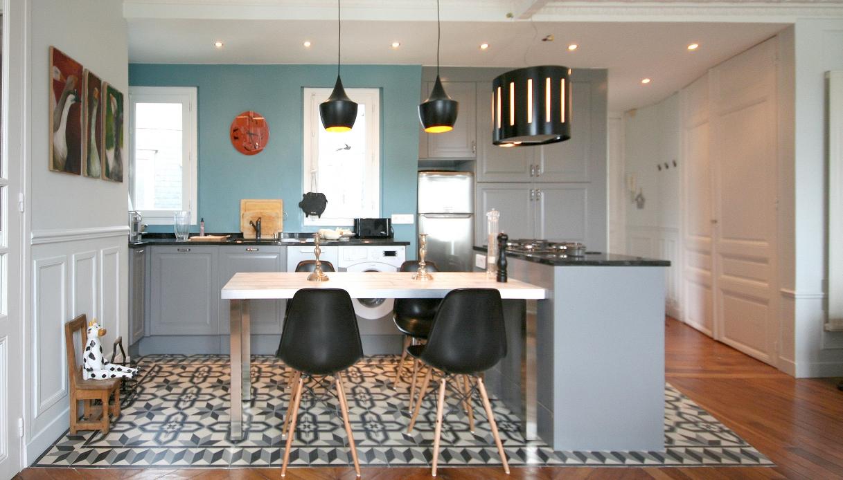Come Separare Cucina E Soggiorno open space: 5 modi per delimitare le varie zone… senza