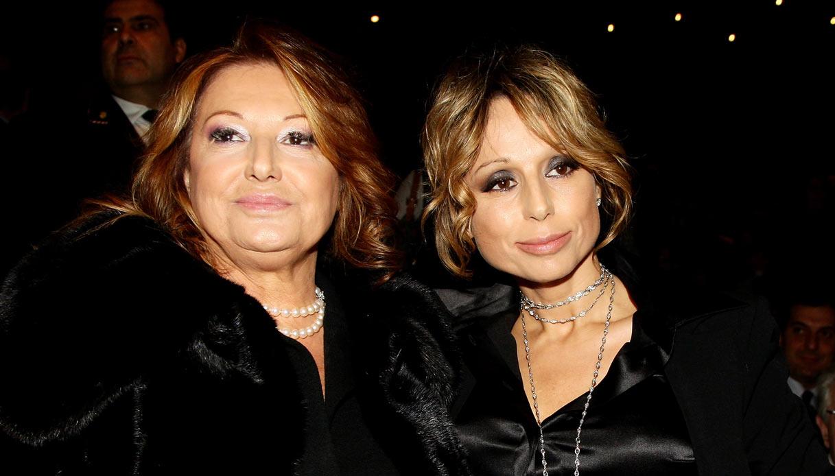 Marina Berlusconi con la mamma