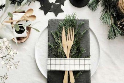 Decorazioni per il tavolo di Natale? Rigorosamente fai da te