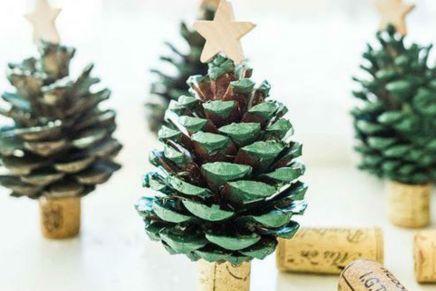 Decorazioni natalizie con i tappi di sughero: ecco 5 idee