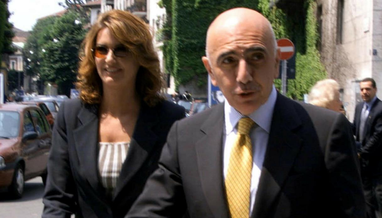 Daniela Rosati e Adriano Galliani