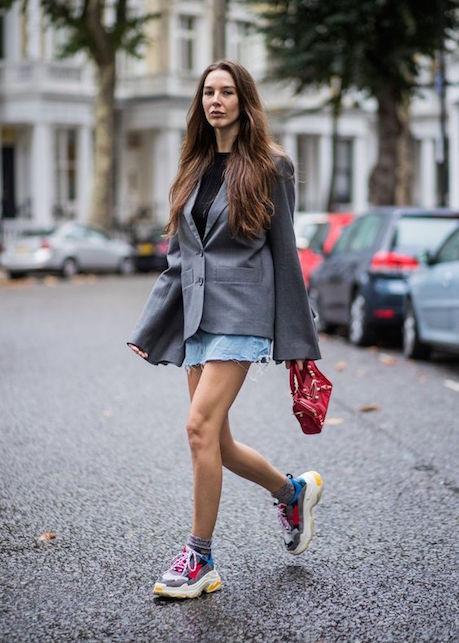 Balenciaga Rubber Triple S Sneakers in Bordeaux Red Lyst