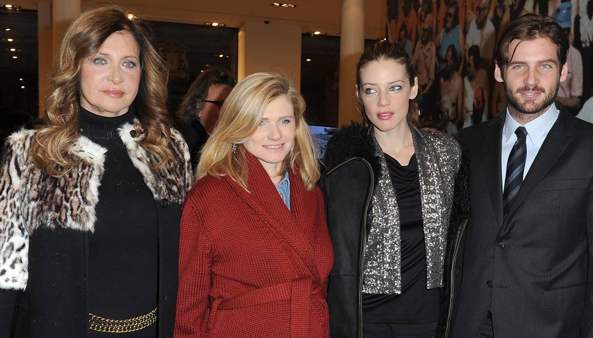 Maria Luisa Trussardi, Beatrice Trussardi, Gaia Trussardi e Tomaso Trussardi