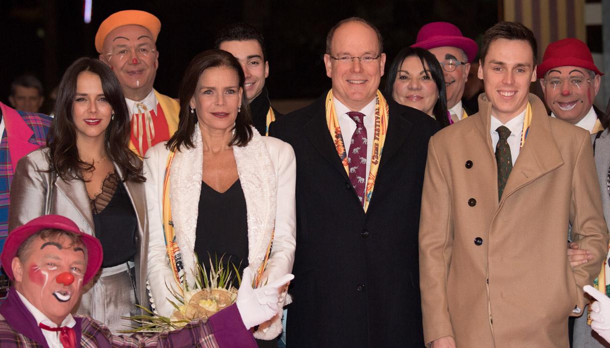 Pauline Ducruet, Stéphanie di Monaco, Alberto di Monaco, Louis Ducruet