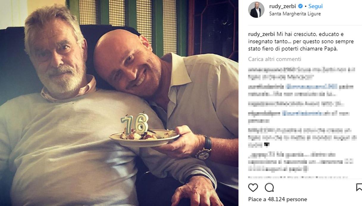Rudy Zerbi e Giorgio Ciana