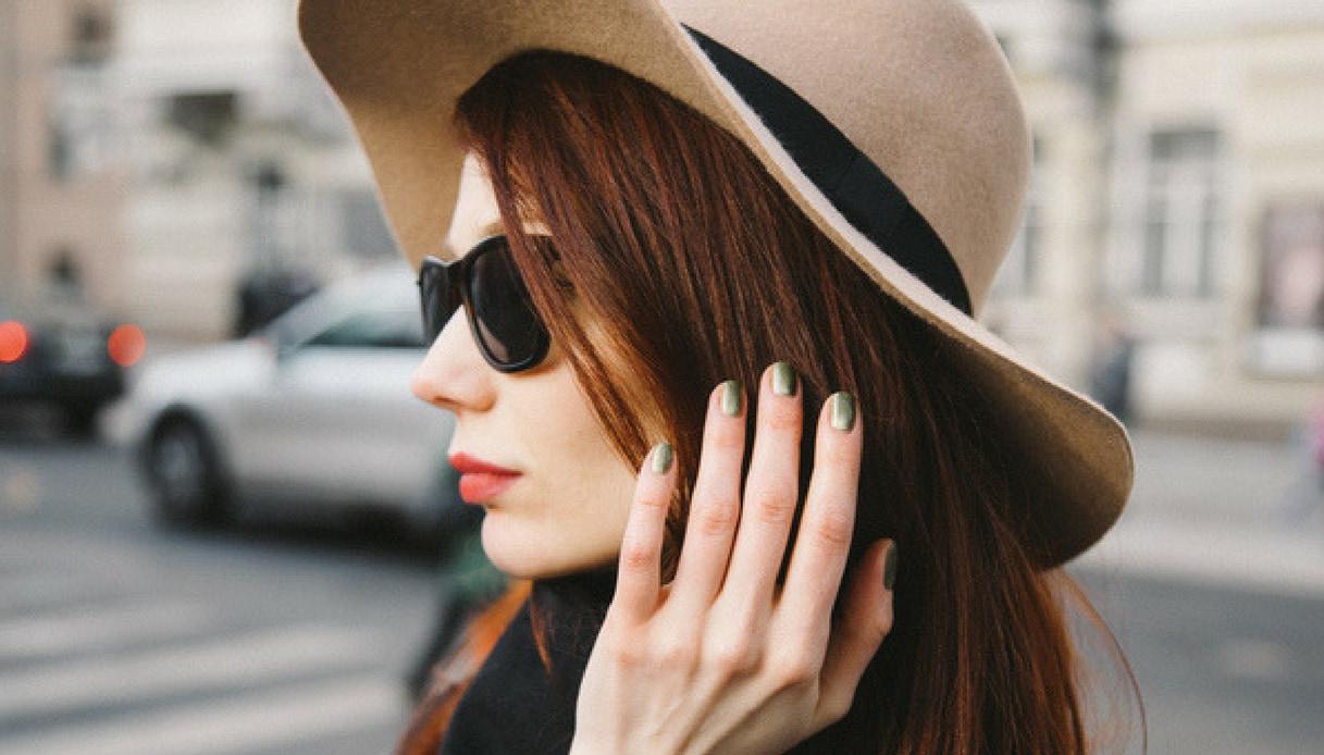 unghie metalliche