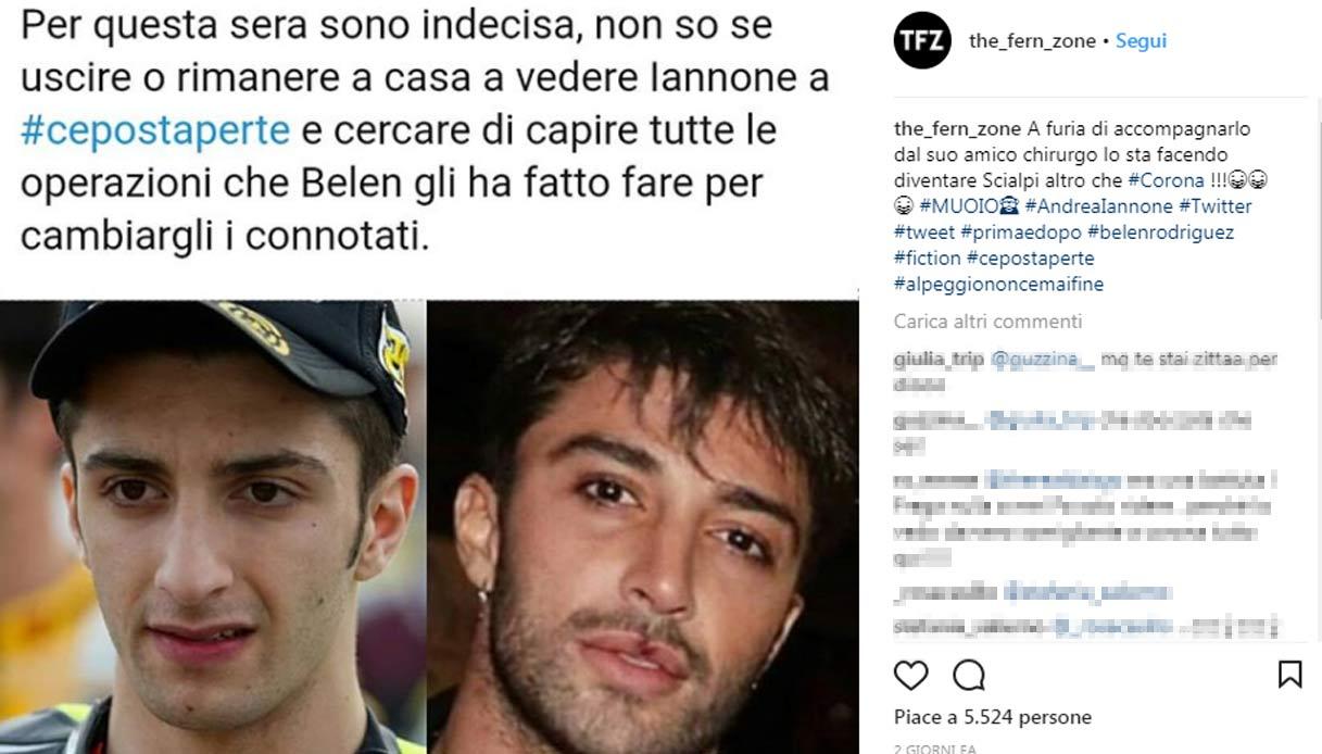 Andrea Iannone prima e dopo