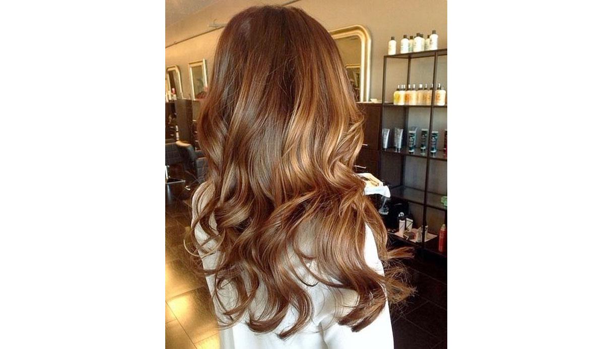 burnt caramel hair è il colore della primavera 2018