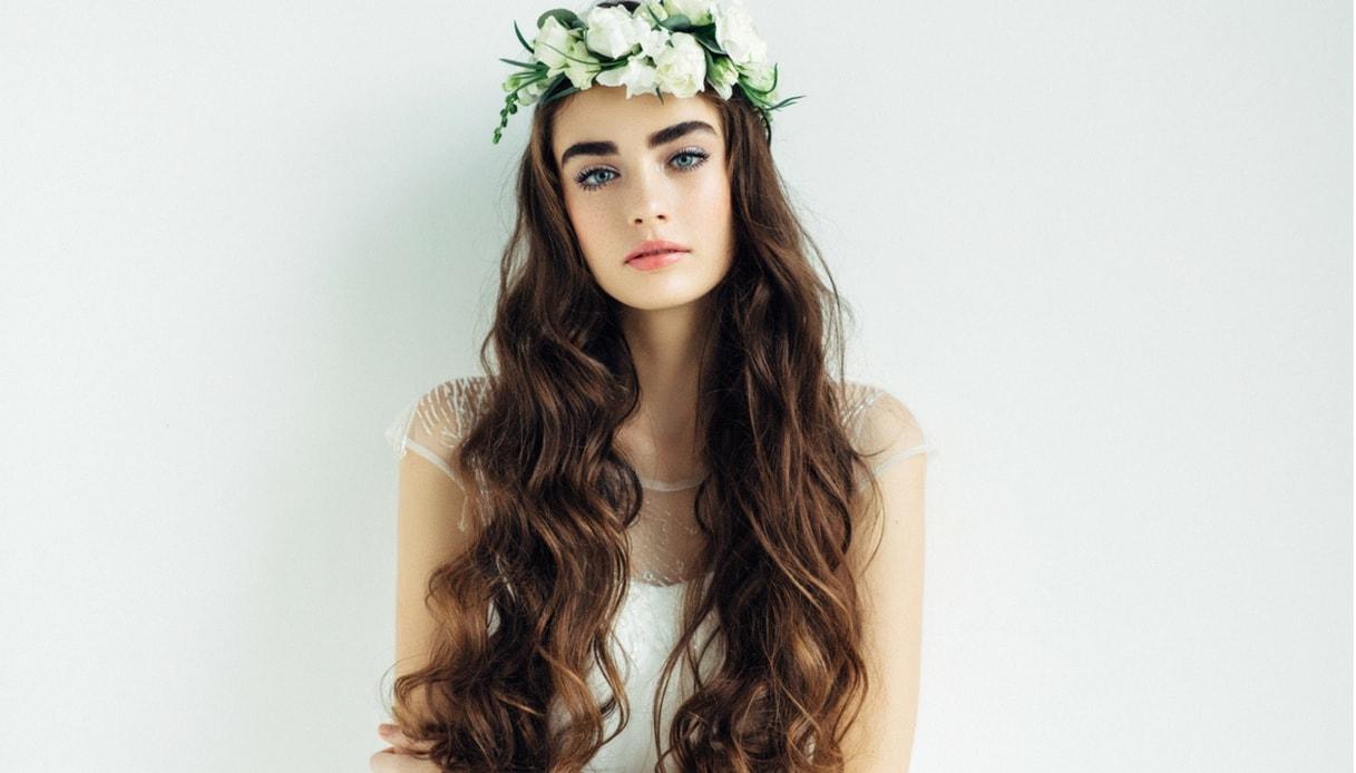 Super Acconciature sposa coi capelli lunghi: le tendenze 2018 | DiLei GX78