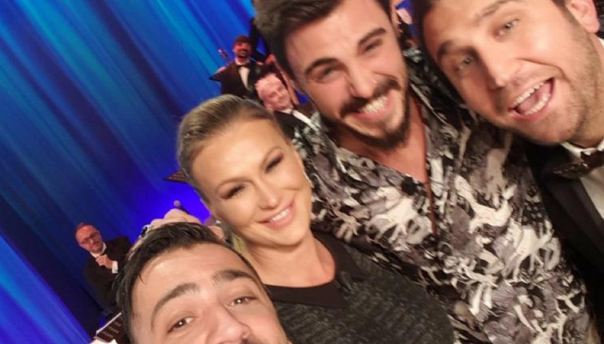 Eva Henger e Francesco Monte selfie