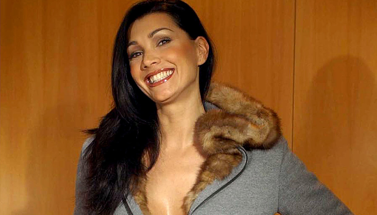 Luisa Corna nel 2002