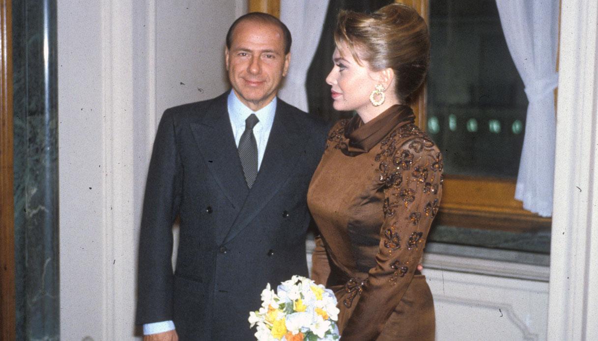 Veronica Lario e Silvio Berlusconi, nozze