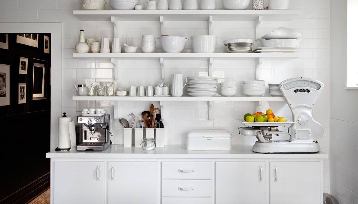 cucina bianca vintage
