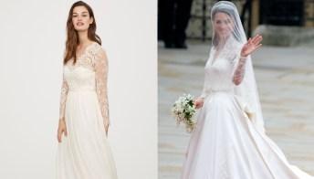 Kate Middleton, l'abito da sposa di H&M è uguale al suo