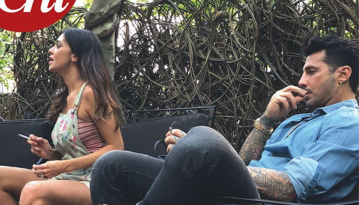 Belen Rodriguez e Fabrizio Corona