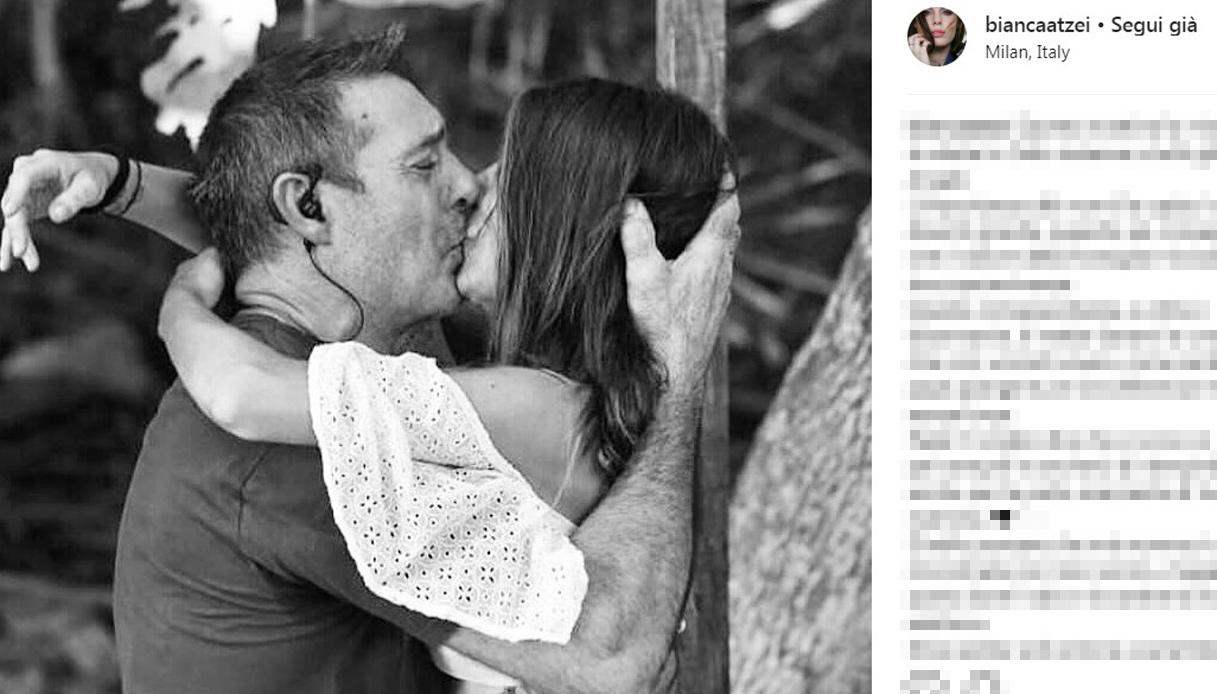 Bianca Atzei morte nonna Instagram