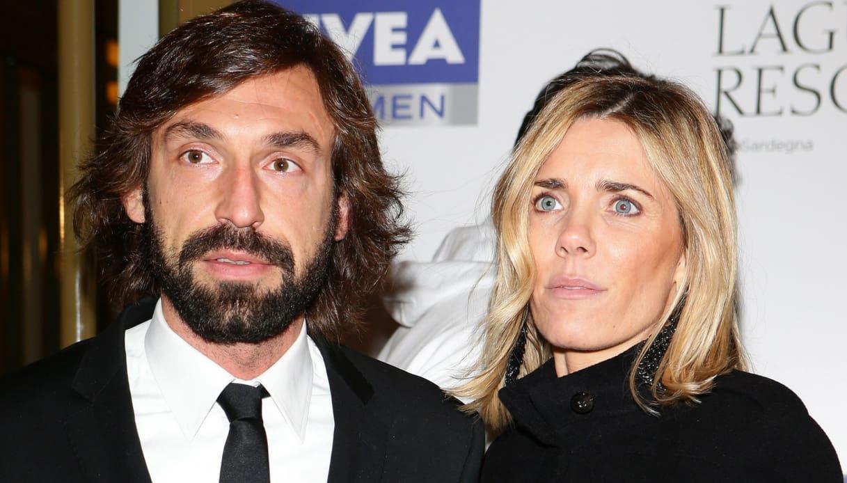 Deborah Roversi e Andrea Pirlo