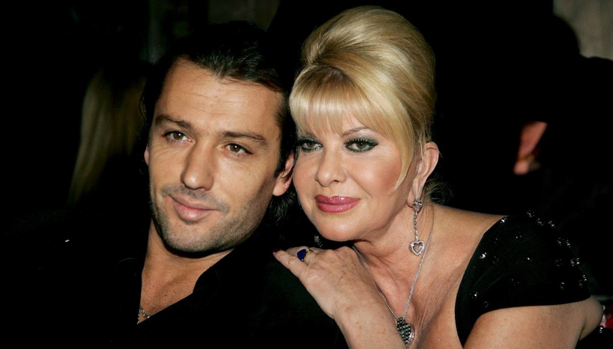 Rossano Rubicondi e Ivana Trump