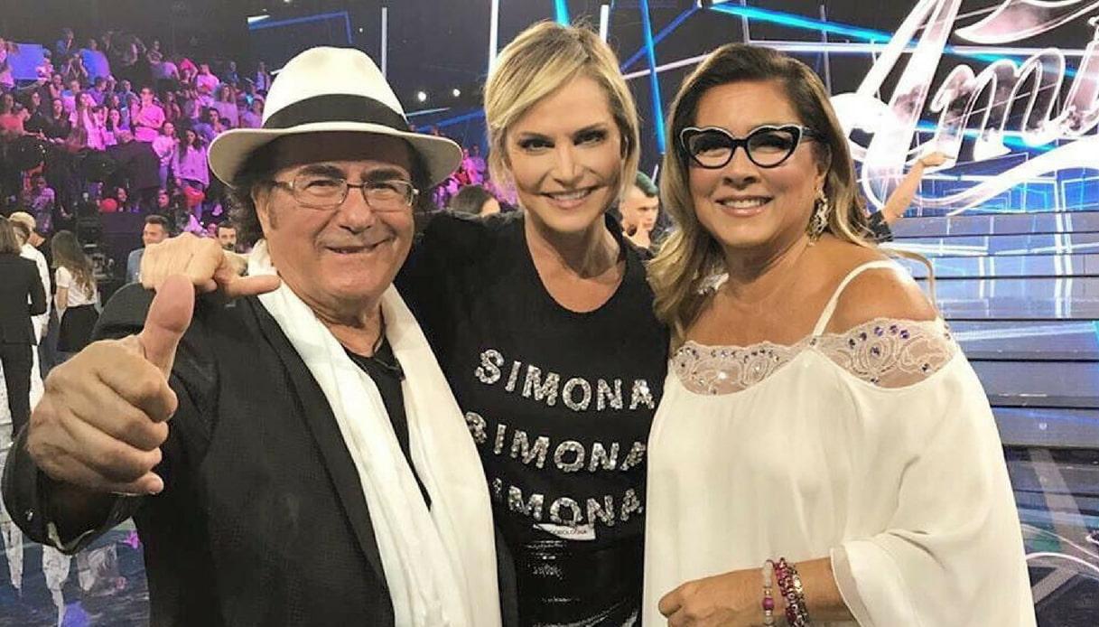 Simona Ventura Al Bano e Romina