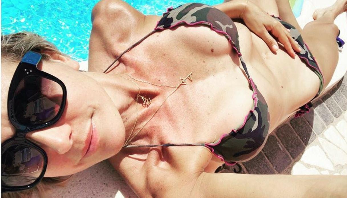 Francesca Senette: felice (ma troppo magra) su Instagram