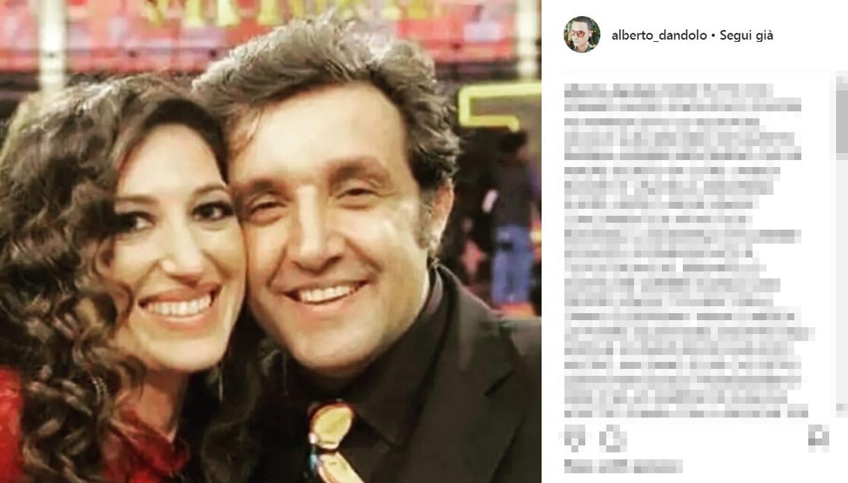 Flavio Insinna e la fidanzata