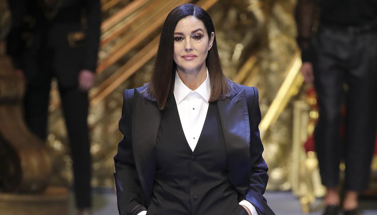 Monica Bellucci torna in passerella