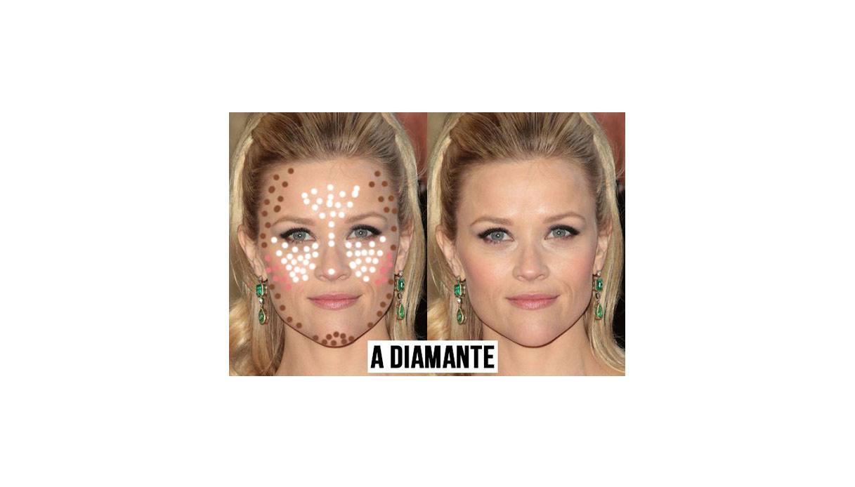 Come definire il viso basandosi sulla sua forma con il contouring: viso a diamante