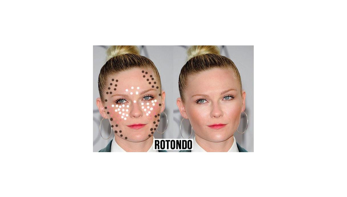 Come definire il viso basandosi sulla sua forma con il contouring: viso rotondo