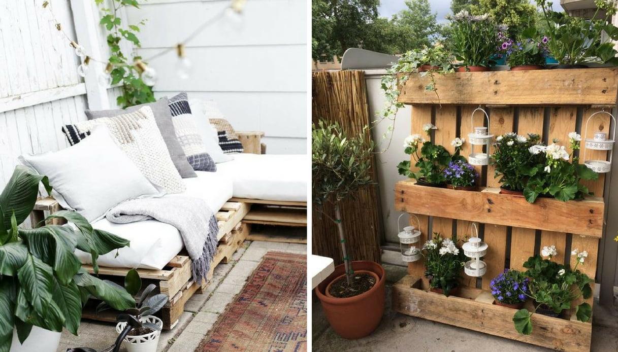Arredare Un Giardino Idee vuoi arredare il terrazzo ma hai poco budget? ecco le idee