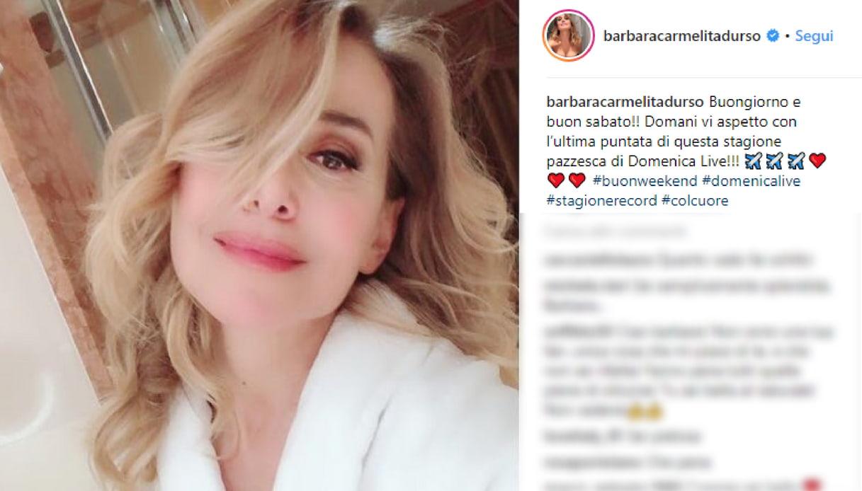 Barbara D'Urso Instagram