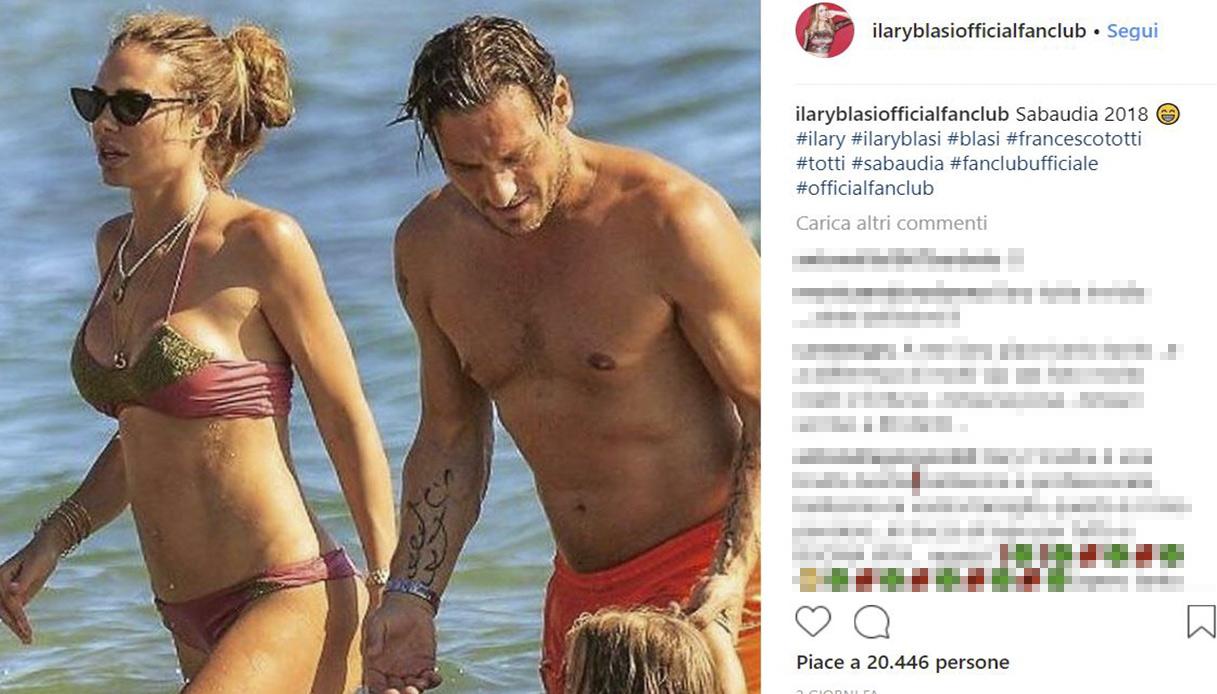 Ilary Blasi Bikini
